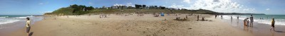 sable blanc    L:  3.52m H: 0,45m
